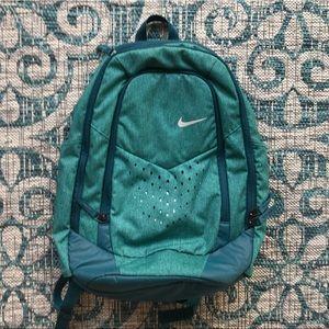 Nike blue/green backpack